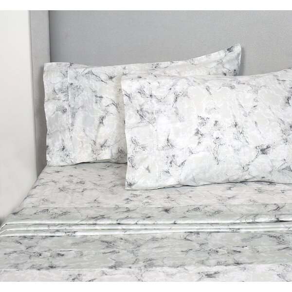 Swafford 400 Thread Count 100% Cotton Sheet Set by Wrought Studio